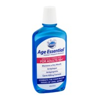 Oasis adult age 50 plus essential Antiplaque/antigingivitis mouthwash - 16 oz