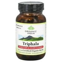 Organic India triphala digestion and colon cleanse capsules - 90 ea