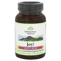 Organic India organic joy formula capsules uplifts mood - 90 ea