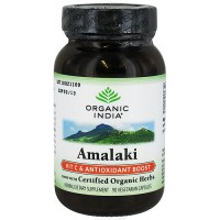 Organic India amalaki vitamin C and antioxidant boost capsules - 90 ea