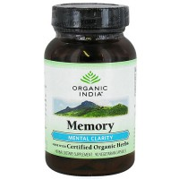 Organic India memory mental clarity capsules - 90 ea
