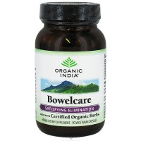 Organic India Bowel care Satisfying Elimination, Vegetarian Capsules - 90 ea
