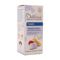Bellybar prenatal mixed fruit chewable tablets - 60 ea