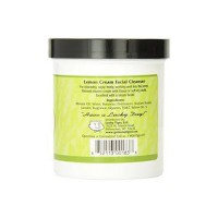 Lucky Tiger Facial Cleansing Cream, Lemon - 12 oz