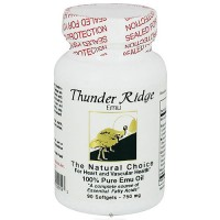 Thunder Ridge Emu Products 100% Pure EMU Oil Gel Caps Softgels - 90 ea