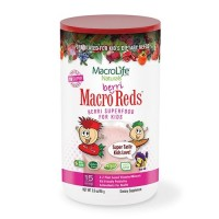 Macrolife naturals macro berri reds for kids  -  3.3 oz