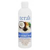 Tera's  simply pure mct coconut splash - 12 oz