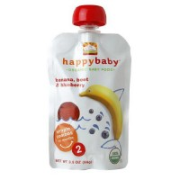 Happybaby Organic Baby Food For 6+ months - 3.5 oz, 16 pack