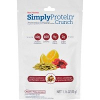 Simplyprotein crunch lemon cranberry pumpkin seed - 33 grams, 12 pack