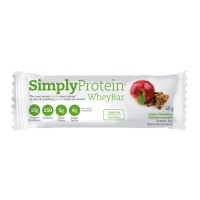 Simply protein whey bar, apple cinnamon - 40 grm, 12 pack