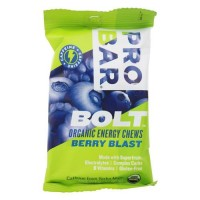 Pro bar - bolt organic energy chews berry blast - 2 oz
