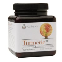 Youtheory turmeric advanced formula anti inflammatory support tablets - 120  ea