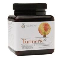 Youtheory turmeric advanced formula anti inflammatory support tablets- 120  ea
