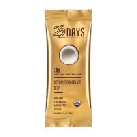 22 Days organic protein bar, Coconut chocolate chip - 2.60 oz, 12ea