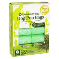 Green n pack eco friendly bags, dog poo bags - 200 bags