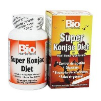 Bio Nutrition Super Konjac Diet With White Kidney Bean Extract Capsules - 90 ea