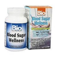 Bio Nutrition Blood Sugar Wellness Vegetarian Capsules - 60 ea