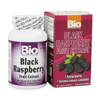 Bio Nutrition Black Raspberry Fruit Extract 500 mg Vegetarian Capsules - 60 ea