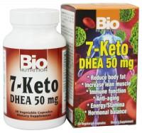 Bio Nutrition 7-Keto DHEA Vegetarian Capsules, 50 mg - 50 ea