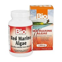 Bio Nutrition Red Marine Algae 1000 mg Vegetarian Capsules - 60 ea