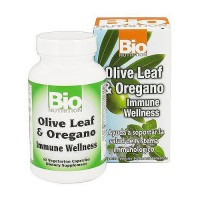 Bio Nutrition Olive Leaf and Oregano Immune Wellness Vegetarian Capsules - 60 ea