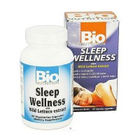 Bio Nutrition Sleep Wellness with Wild Lettuce Extract Tablets - 60 ea