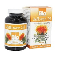 Bio Nutrition Safflower Oil 1000 mg Softgels - 90 ea