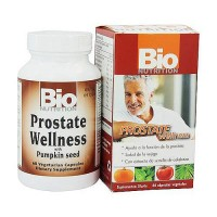 Bio Nutrition Prostate Wellness Vegetarian Capsules, Pumpkin Seed Extract - 60 ea