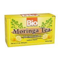 Bio Nutrition Moringa Tea, Lemon Flavor - 30 Tea Bags