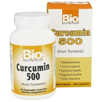 Bio Nutrition Curcumin 500 mg From Turmeric Vegetarian Capsules - 50 ea
