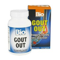 Bio Nutrition Gout Out Vegetarian Capsules - 60 ea