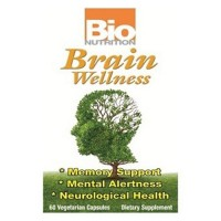 Bio nutrition brain wellness memory support mental alertness - 60 ea