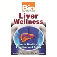 Bio nutrition liver wellness - 60 ea