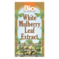 Bio nutrition white mulberry leaf extract 1000 mg - 60 ea
