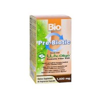 Bio nutrition pre biotic with llife oligo 1400mg - 60 ea