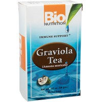 Bio nutrition graviola tea bags, immune support  -  30 ea