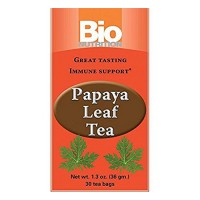 Bio nutrition papaya leaf tea, immune support  -  30 Bags
