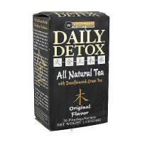 Daily detox all natural tea, Original Flavor - 30 ea