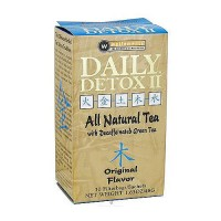 Daily detox II all natural decaffeinated green tea, original - 30 ea