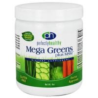 Perfectly healthy mega greens plus msm - 8 oz