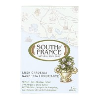 South of france bar soap oval lush gardenia - 6 oz