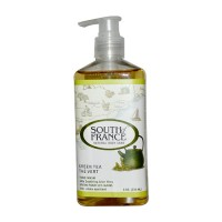South of France Green Tea Hand Wash with Soothing Aloe Vera - 8 oz