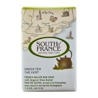 South of france bar soap green tea travel - 1.5 oz, 12 pack