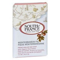 South of france bar soap mediterranean fig travel - 1.5 oz, 12 pack