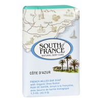 South of france bar soap cote dazur travel - 1.5 oz ,12 pack