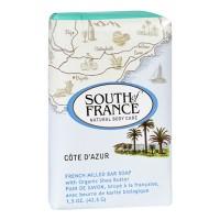 South of france bar soap cote dazur travel - 1.5 oz ,12 pack