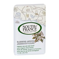 South of france bar soap blooming jasmine travel - 1.5 oz,12 pack