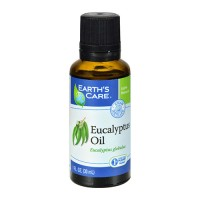 Earths Care Pure Eucalyptus Oil For Aromatherapy, Natural, 1 oz