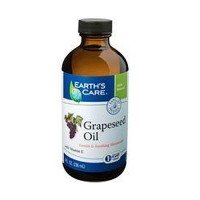 Earths Care Gentle and Soothing Moisturizer, Grape seed Oil - 8 oz