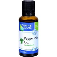 Earth's care peppermint oil  pure and natural - 1 ea